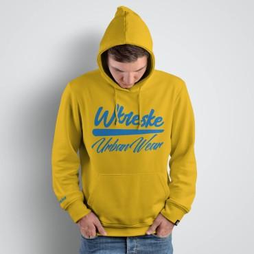 UrbanWear Yellow - Bluza męska z kapturem