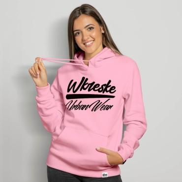 UrbanWear Pink - Bluza damska z kapturem
