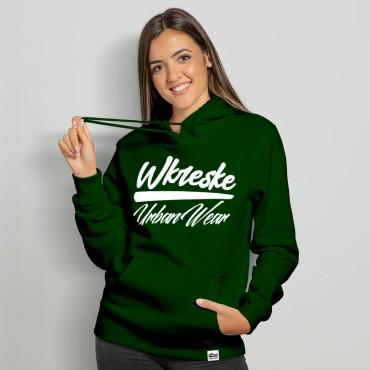 UrbanWear Bottle Green - Bluza damska z kapturem