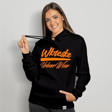 UrbanWear Black - Bluza damska z kapturem