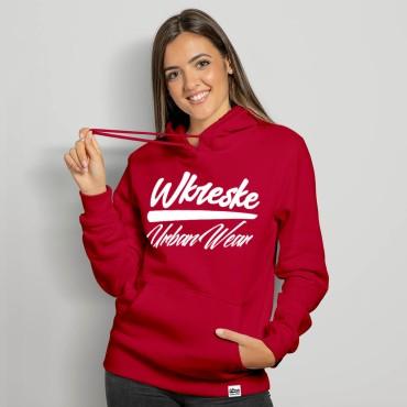 UrbanWear Raspberry - Bluza damska z kapturem