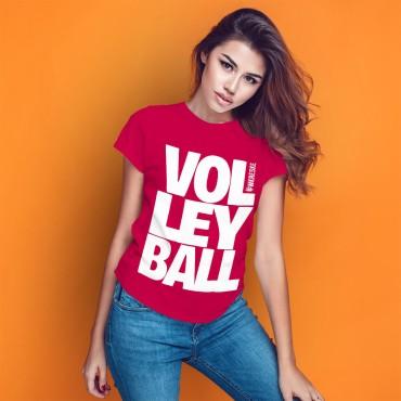 Volleyball Raspberry - Koszulka damska