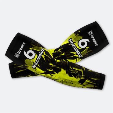 Son Goku Yellow - Rękawki Siatkarskie Fullprint