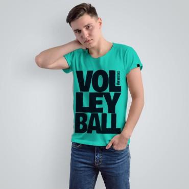Volleyball Turquoise - Koszulka męska