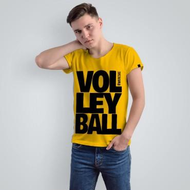 Volleyball Yellow - Koszulka męska