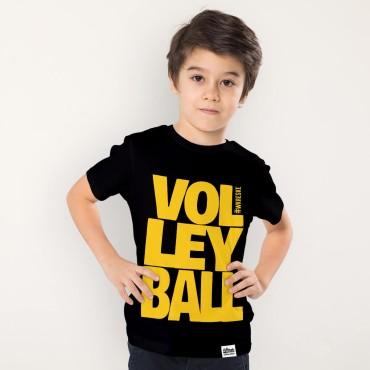 Volleyball Black - Koszulka dziecięca