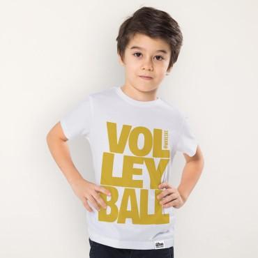 Volleyball White - Koszulka dziecięca