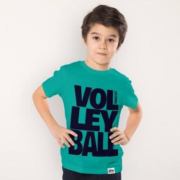 Volleyball Turqoise - Koszulka dziecięca