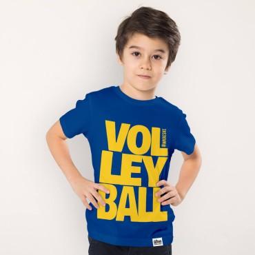 Volleyball Blue - Koszulka dziecięca