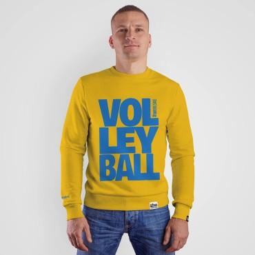 Volleyball Yellow - Bluza bez kaptura
