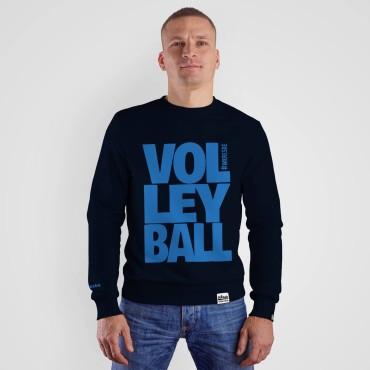 Volleyball Navy - Bluza bez kaptura