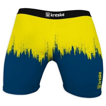 Grunge Yellow/Navy - Podspodenki, opinacze