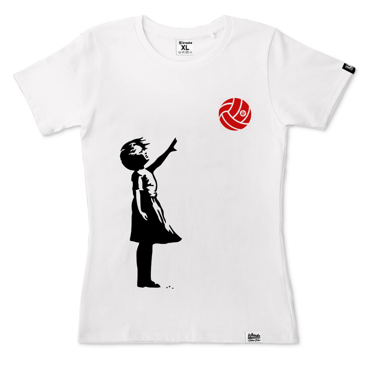 Banksy V-ball - Koszulka damska