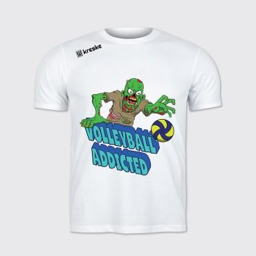 Volleyball Addicted - Koszulka unisex sportowa
