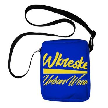 Wkreske Urban Wear logo blue - Torebka listonoszka