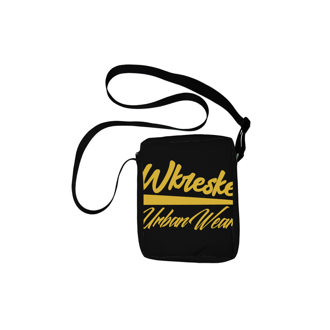 Wkreske Urban Wear logo black - Torebka listonoszka