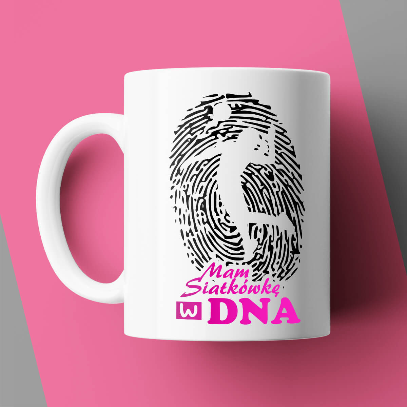Siatkówka w DNA - Kubek siatkarski damski