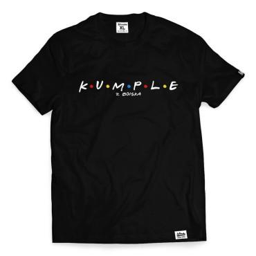 Kumple - Koszulka męska czarna