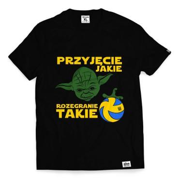 Yoda - Koszulka męska czarna