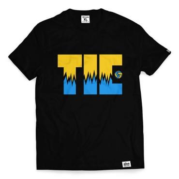Tie Break - Koszulka męska czarna