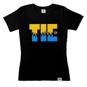 Tie Break - Koszulka damska czarna