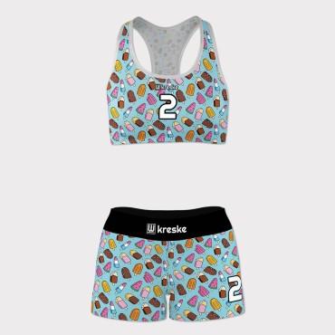 Icecreams - strój do siatkówki plażowej