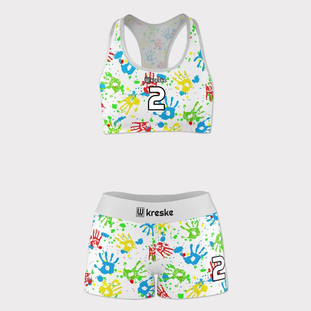Painted - strój do siatkówki plażowej