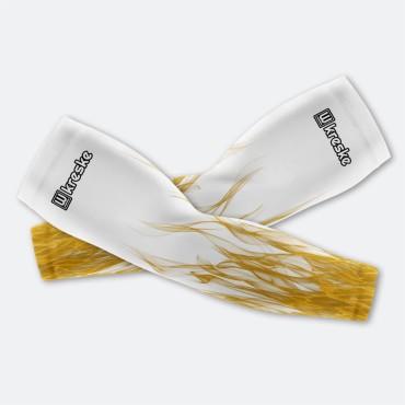 Yellow Flames - Rękawki Siatkarskie Fullprint