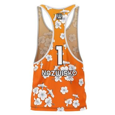 Hawaii Orange - strój do siatkówki plażowej