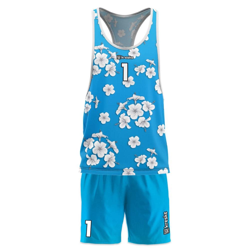 Hawaii Blue - strój do siatkówki plażowej