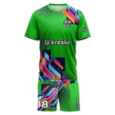 Serve Green - strój siatkarski męski