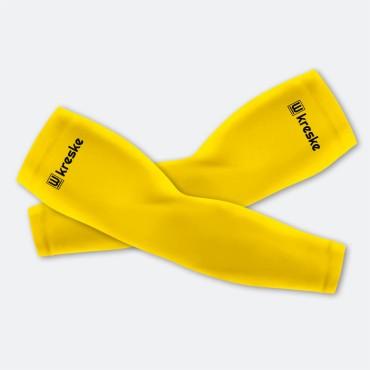 Solid Yellow - Rękawki Siatkarskie Fullprint