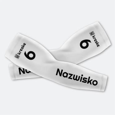 Solid White - Rękawki Siatkarskie Fullprint